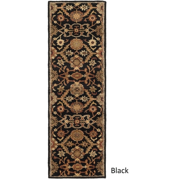 Hand-Tufted Acton Floral Wool Rug (2'3 x 14')