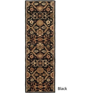 Hand-Tufted Acton Floral Wool Rug (2'3 x 10')