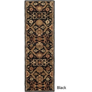 Hand-Tufted Acton Floral Wool Rug (2'3 x 12')