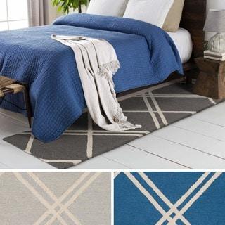 Hand-Tufted Acworth Wool Rug (2' x 8')