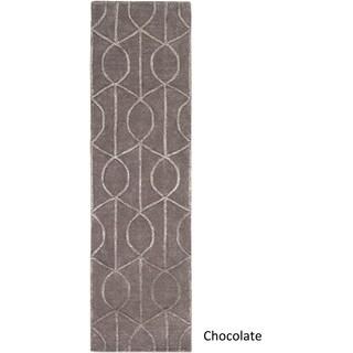 Hand-tufted Taunton Wool Rug (6' Round)