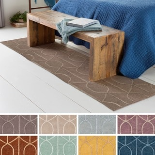 Hand-tufted Taunton Wool Rug (2'3 x 10')