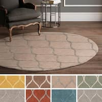 Hand-Tufted Lechlade Wool Area Rug - 3'6