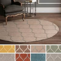 Hand-Tufted Lechlade Wool Area Rug - 6'