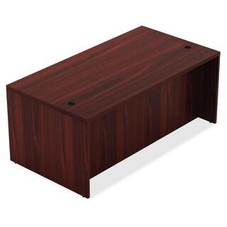Lorell Chateau Series 60-inch Mahogany Laminate Desk