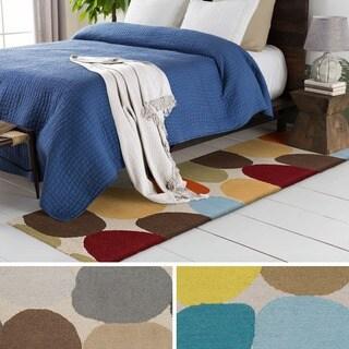 Hand-Tufted Arlo Wool Rug (2' x 8')