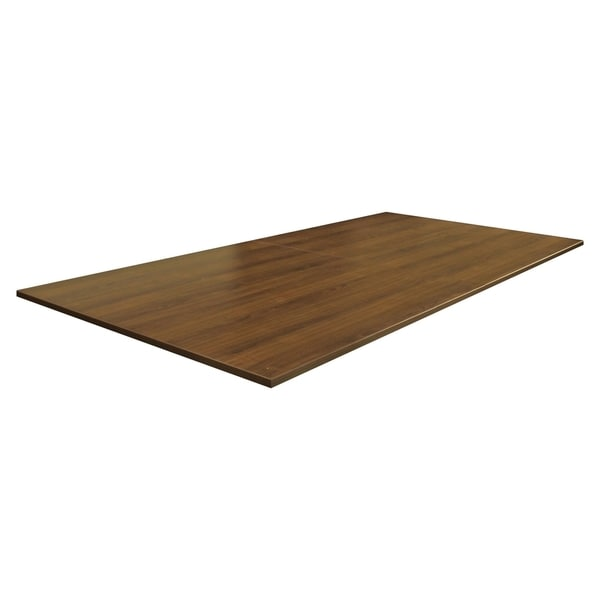 Shop Lorell 96 X 48 Inch Walnut Rectangular Conference Tabletop   Free  Shipping Today   Overstock   11112100