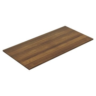 Lorell Chateau Series 8 ft. Walnut Rectangular Conference Table Tabletop