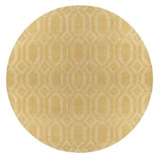 Hand-Loomed Hinckley Wool Rug (7'9 Round)