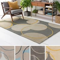 Hand-Tufted London Wool Rug - 4' x 6'