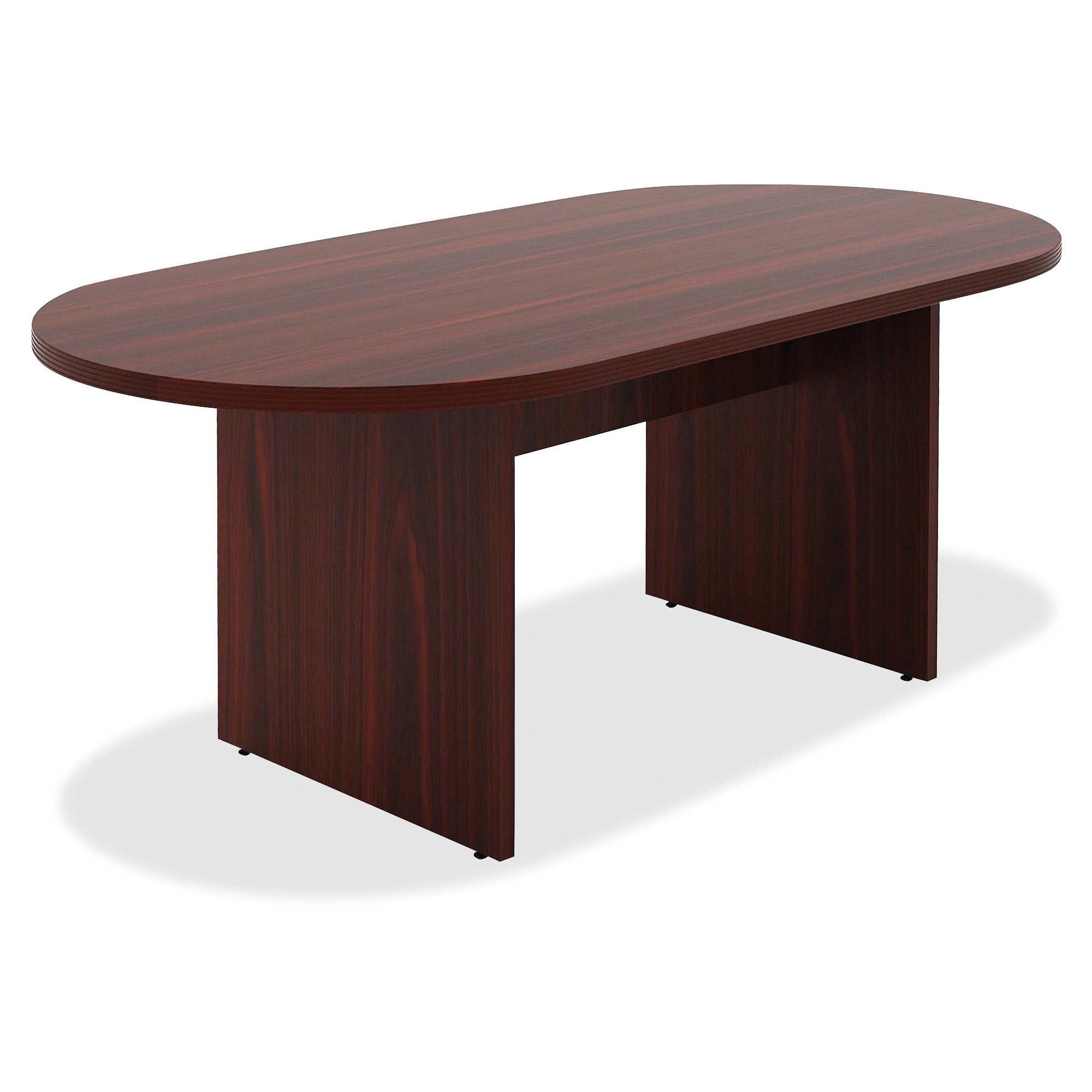 Lorell Chateau Series 4 ft. Mahogany Oval Conference Table