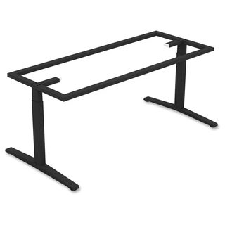 Lorell Rectangular Conference T-leg Table Base - (1/Each)