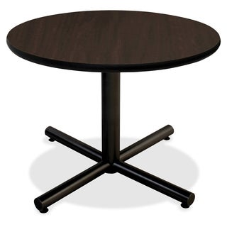 Lorell Invent 42-inch Espresso Round Tabletop
