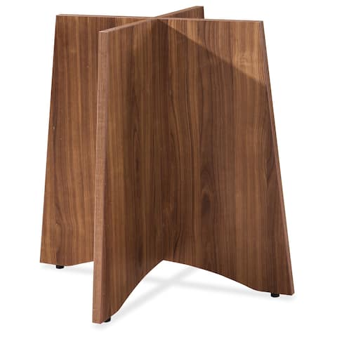 Lorell Essentials Series Walnut Round Table Base