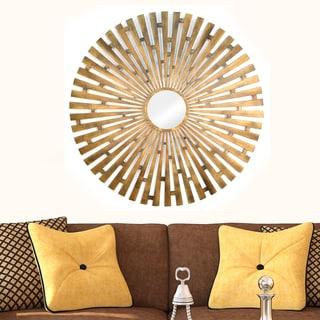 Stratton Home Decor Bronze Mod Flower Bouquet Wall Decor