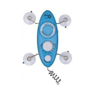 Zadro Blue Shower Bug 2.0 AM/FM Radio