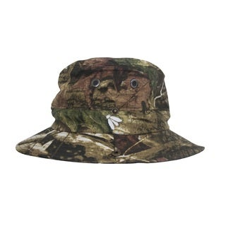 Adult Forest Camo Boonie Mosquito Net Hat Bughat (Large/ XL)