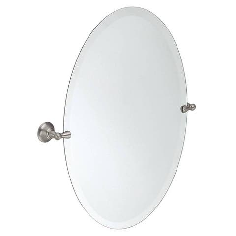 Moen Sage Brushed Nickel Mirror, DN6892BN