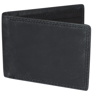 Buxton Leather RFID Slimfold