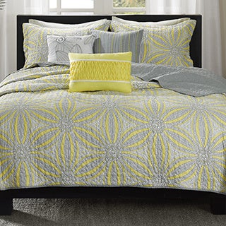Madison Park Rhodes 6-piece Coverlet Set
