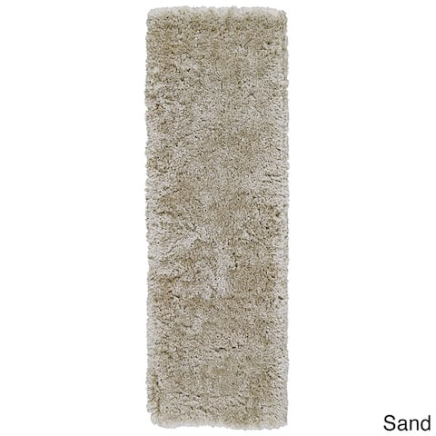 Grand Bazaar Hand-Tufted Roux Shag Rug in Fog, Runner