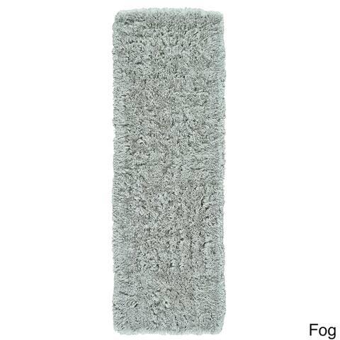 Grand Bazaar Hand-Tufted Roux Shag Rug in Fog, Runner