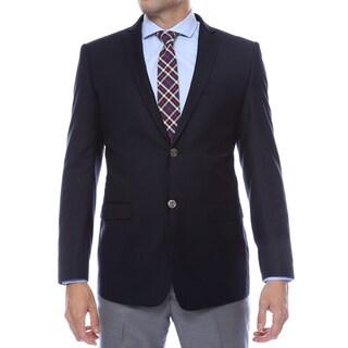Link to Ferrecci Men's Navy Finn Slim Fit Blazer Jacket Similar Items in Sportcoats & Blazers