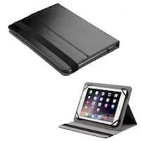 INSTEN Black Universal 7-8 inch Tablet Leather Case Cover Protector