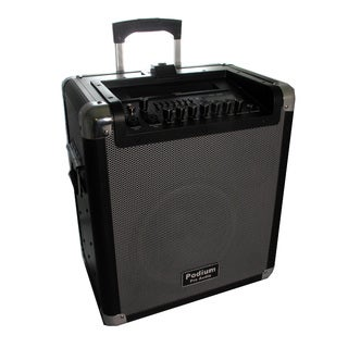 Podium Pro Audio MPA1000 Portable Battery Powered Speaker 1000 Watts with Bluetooth USB SD MP3
