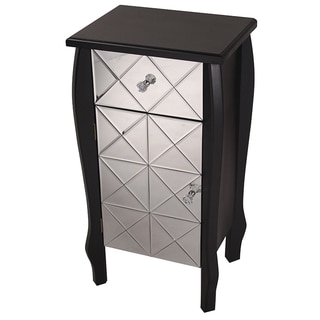 Heather Ann Single Drawer, Single Door Mirrored Cabinet