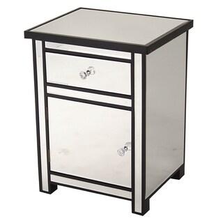 Heather Ann Single Drawer, Single Door Mirrored Cabinet