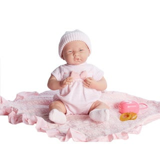 JC Toys 15.5-inch Deluxe Realistic Baby Doll