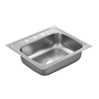 Moen Drop-in Steel Kitchen Sink G221963