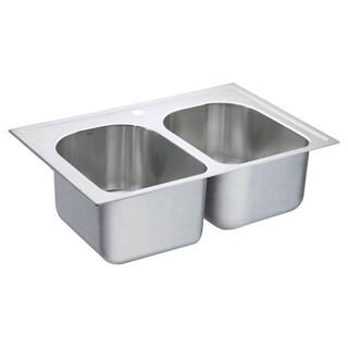 Moen Drop-in Steel Kitchen Sink G182571