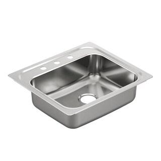 Moen Drop-in Stainless Steel Kitchen Sink G201963