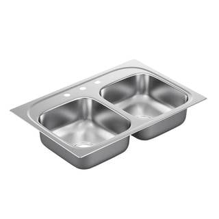 Moen Drop-in Steel Kitchen Sink G222173