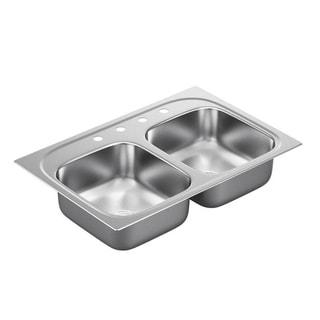 Moen Drop-in Steel Kitchen Sink G182154