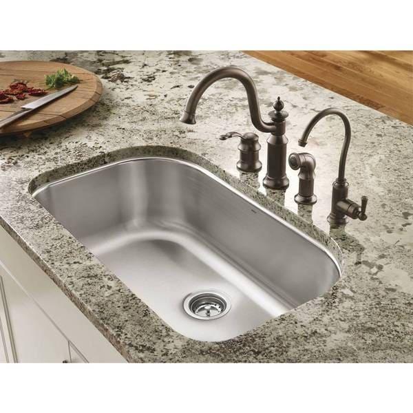 Moen 1800 Series Undermount Stainless Steel Kitchen Sink G18165 ...