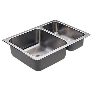 Moen Drop-in Stainless Steel Kitchen Sink G202721