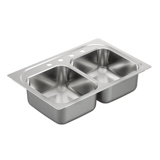 Moen Drop-in Steel Kitchen Sink G222134