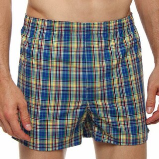 Fruit of the Loom Men's Classic Woven Boxers (Pack of 10)