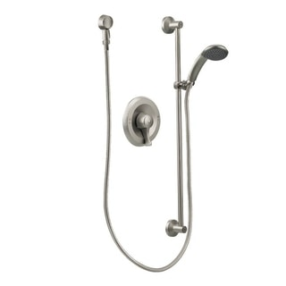 moen commercial shower faucet t8346cbn classic brushed nickel finish