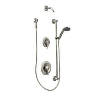 moen commercial shower system t8342nhcbn classic brushed nickel finish