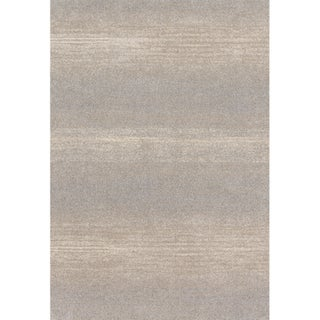 Abstract Modern Grey/ Beige Rug - 9'2 x 12'7