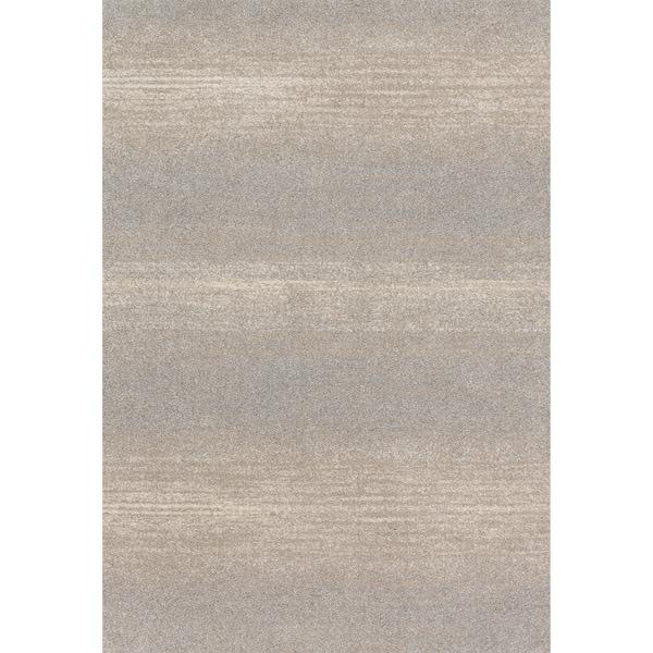 "Abstract Modern Grey/ Beige Rug - 9'2"" x 12'7"""