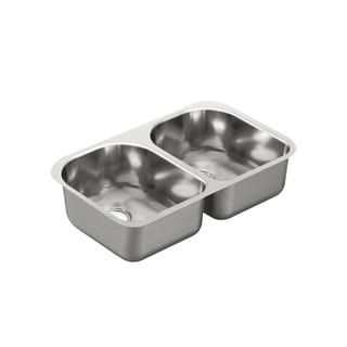 Moen Undermount Steel Kitchen Sink G20253