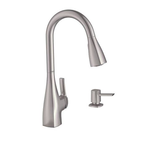 Moen Kiran Single Hole Kitchen Faucet 87599SRS Spot Resist Stainless Finish