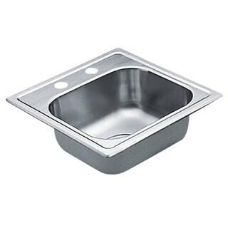 Moen Drop-in Steel Kitchen Sink G2245622