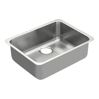 Moen 1800 Series Undermount Stainless Steel Kitchen Sink G18195