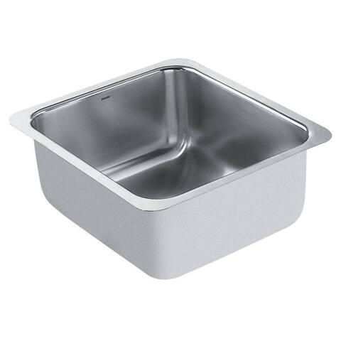 Moen Undermount Steel Kitchen Sink G18443